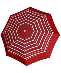 Knirps Taschenschirm, »T2 Duomatic - Strip Art Red«