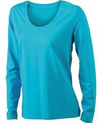 James & Nicholson Damen T-Shirt Langarmshirt Ladies Stretch Shirt Long Sleeve