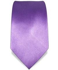 Svatební, plesová kravata fialová Vincenzo Boretti 1394