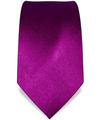 Svatební, plesová kravata magenta Vincenzo Boretti 1390