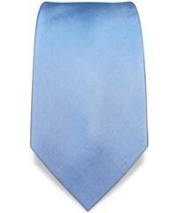Svatební, plesová kravata modrá Vincenzo Boretti 1869