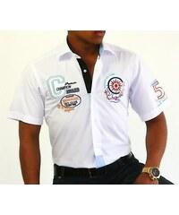 Binder de Luxe Pánská košile s krátkým rukávem Binder 819-06