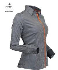 Luxusní dámská košile, sportovní halenka Pontto 1003-03