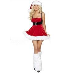 LM moda Sexy obleček Santa Clause - Vánoční kostým