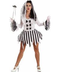 LM moda Halloween kostým lebka, smrtka