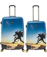 National Geographic,Trolley-Set mit 4 Rollen, Adventure of Life , »X-Biker«, (2tlg.)