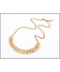 Jemný zlatý řetízkový náhrdelník