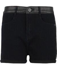 Firetrap Blackseal Pu Shorts dámský černá XS