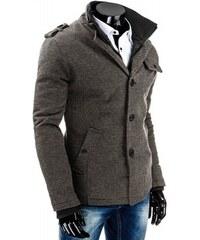 Pánský kabát Oligo šedý - šedá