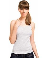 Spodní košilka Violana Sonia melange - ramínka, šedá