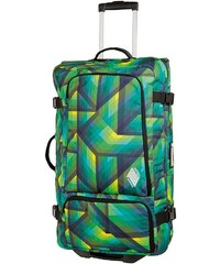 Nitro Trolley-Reisetasche mit 2 Rollen, »Team Gear Bag - Geo Green«