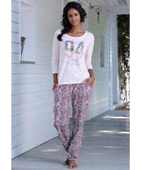 s.Oliver RED LABEL Bodywear Pyjama mit mehrfarbigem Paisleymuster