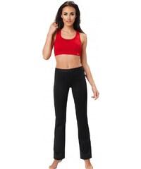 Legíny gWINNER Straight Leg Training Pants Nair, černá