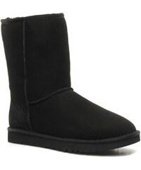 Ugg Australia - Classic Short - Stiefeletten & Boots für Damen / schwarz