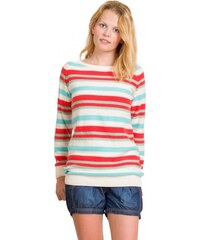 Dámský svetr Stripy Ladies´ Jumper White
