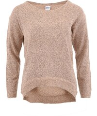 Růžový volnější svetr Vero Moda Tenor