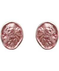 My Astre Náušnice Bledě růžové oválky
