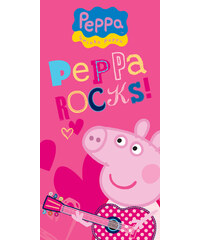 Peppa Pig Dětská osuška Prasátko Pepina Rock