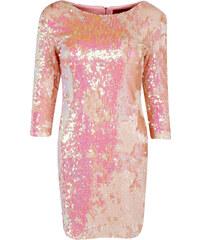 BOOHOO Růžové bodycon šaty Becca