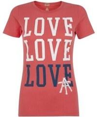 ELISE RYAN Červené tričko LOVE