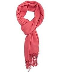 LUXE PASHMINA Luxusní kašmírová pašmína Neonově růžová