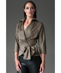 THE SHIRT COMPANY Khaki košile ABIGAIL