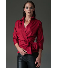 THE SHIRT COMPANY Rubínová košile ABIGAIL