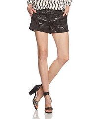 TOM TAILOR Denim Damen Short jacquard/411