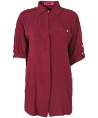 BOOHOO Vínová košile Anna