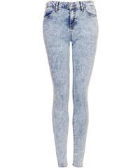 Topshop MOTO Acid Wash Leigh Jeans