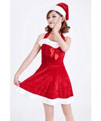 LM moda Kostým Santa - šatičky