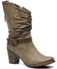 Mustang shoes - Louison - Stiefeletten & Boots für Damen / grau