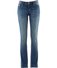 John Baner JEANSWEAR Stretch-Bootcut-Jeans, Kurz in blau für Damen von bonprix