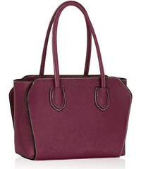 L&S Fashion (Anglie) Kabelka LS00307 fialová
