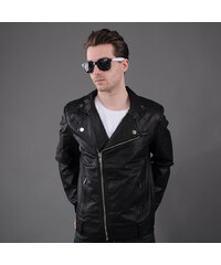 Urban Classics Biker Jacket černá