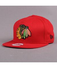 New Era Cotton Block Chicago Blackhawks červená