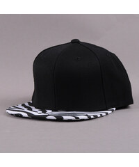 Yupoong Animal Snapback Zebra černá / bílá