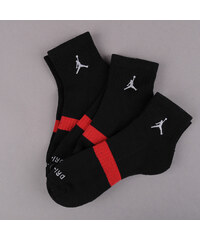Jordan Drifit Low Quarter 3 Pack černé (basketbal)