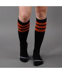 """CoolSocks Simple 22"""" černé / oranžové"""
