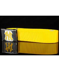 MD MLB Premium Woven Belt Single NY žlutý