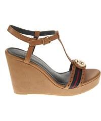 Tommy Hilfiger sandály FW56816771 hnědá
