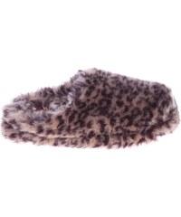 Gioseppo domácí pantofle Adabela leopard-brown