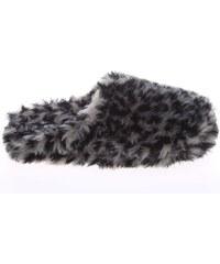 Gioseppo domácí pantofle Adabela leopard-black