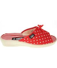 Rejnok Dovoz Rogallo domácí pantofle 7101-005 červené
