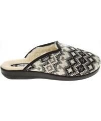 Rejnok Dovoz Rogallo domácí pantofle 3100-006 černá-bílá