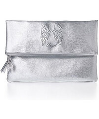 Stříbrná metalická kabelka psaníčko Victoria´s Secret