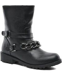 SALE - 50% - Divine Factory - D-frizz - Stiefeletten & Boots für Damen / schwarz