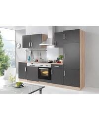 HELD MÖBEL Küchenzeile mit E-Geräten »Toronto«, Breite 280 cm