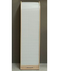 Jalousieschrank, Höhe 164 cm