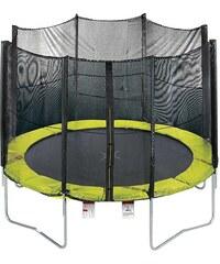 Trampolin, 366 cm, mit Sicherheitsnetz, grün-schwarz, RBSports